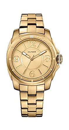 Tommy Hilfiger Analog Gold Dial Women's Watch - TH1781139/D