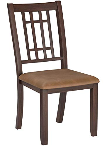 At Home Dining Chairs.24 7 Shop At Home 247shopathome Idf3100sc Dining Chairs Brown
