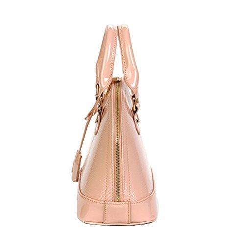 Grano Superiore Rosa Donna Moda Guscio In Manico Legno Borsa Sacchetto CgBq4pC