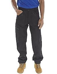 Mens St Action Combat 9 Pocket Zip Plumber Workwear Trouser