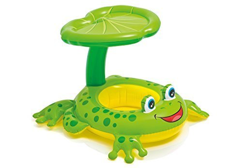 Intex Recreation 56584EP Froggy Friend Shaded Baby Float Toy, 8', Multicolor