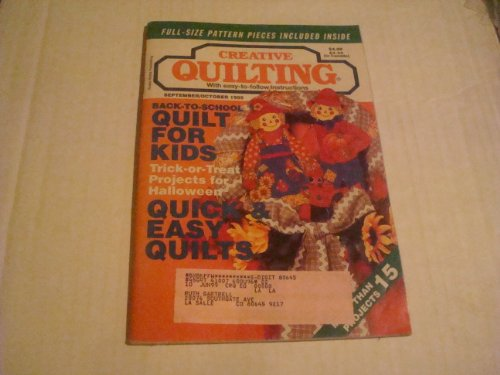 Creative Quilting Magazine September/October 1995 (Volume 10 Issue 5)