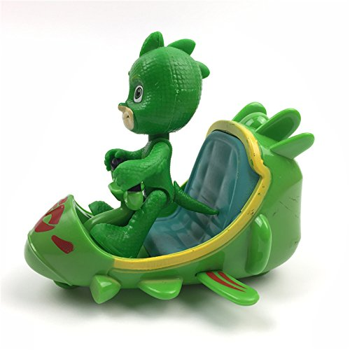 Amazon.com: 3pcs/lot PJ Cartoon Characters Catboy Owlette Gekko Cloak Toys Car Set Mask Toys PVC action figures Collection Model Toy for boy: Toys & Games