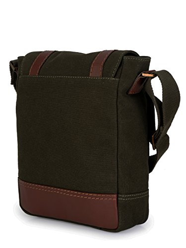 Phive Rivers Borsa Messenger, Green (verde) - PR1150