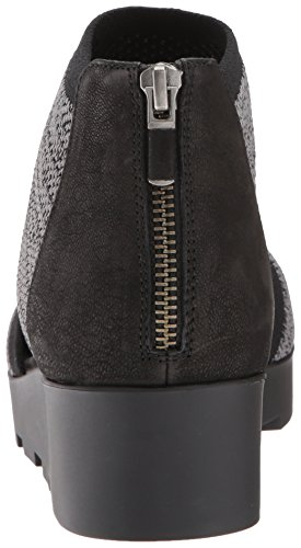 Eileen Fisher Mujer Ogden Mary Jane Flat Negro / Gris