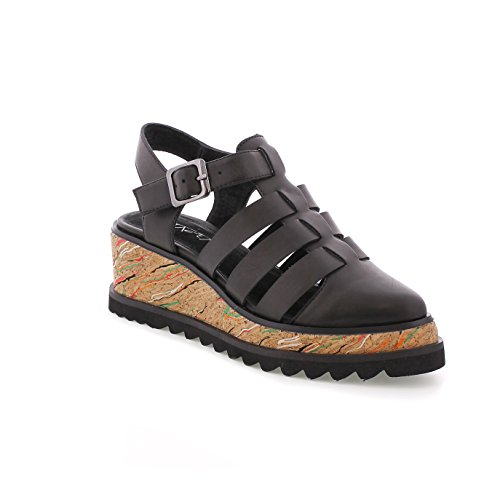 Vak SixtySeven Multicolor Dress Women's 77923 Black Shoes Black wC6qgRxS