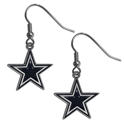 NFL Dallas Cowboys Dangle Earrings (Dallas Cowboys Merchandise Women)