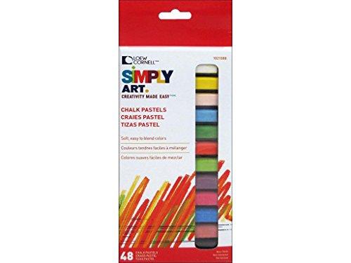 Loew-Cornell 1021088 Simply Art Chalk Pastels