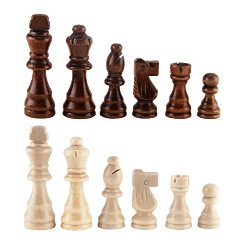 Wood Chess Pieces - Amerous Wooden Chess Pieces 3.03