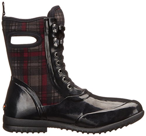 Multi Sidney Bogs Boot Insulated Plaid Women's Black Waterproof 0HqHpw