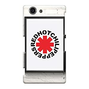 Sony Xperia Z3 Mini WbH5140zEGP Provide Private Custom High Resolution Red Hot Chili Peppers Series Scratch Resistant Hard Phone Covers -CristinaKlengenberg