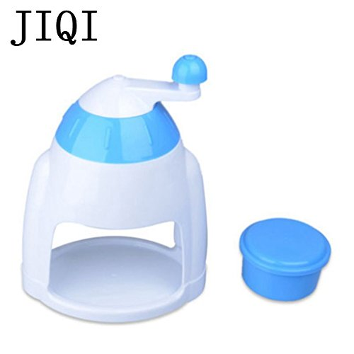 JIQI Household Manual Ice Crusher Shaver Hand Crank Mini Ice shaving Machine snow cone smasher grinder DIY ice cream Grinding by JIQI