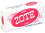 Zote Laundry Soap Bar Pink 4 Bars 7.0 Ounce Each