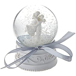Artisano Designs A41006 Forever in Love Couple Snow Globe Favor