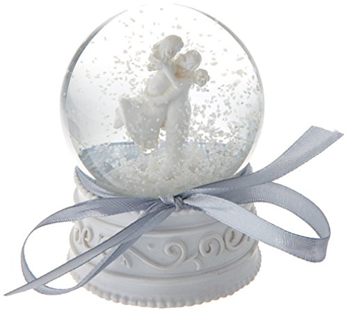 Artisano Designs A41006 Forever in Love Couple Snow Globe Favor -