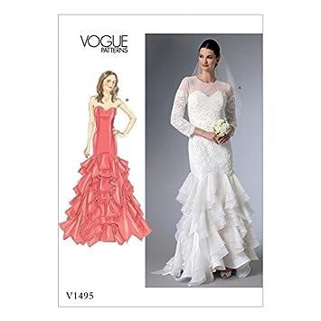 Vogue Damen Petite Größen Schnittmuster 1495 Sweetheart Ausschnitt ...