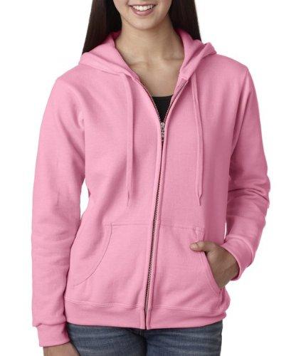 Gildan Womens 8 oz Heavy Blend 50/50 Full-Zip Hood G186FL -A