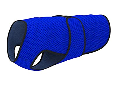 Dog Cooling Vest for Summer. Lightweight Cool Microfiber Technology, UV Protection Shirt, Sizing for Small, Medium and Large Dogs