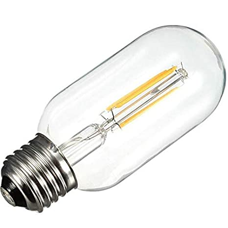 Warm Color Halogen Lamp T45 Bulb 4W BallRetro Led Filament Bulb Home Energy Saving Bulb