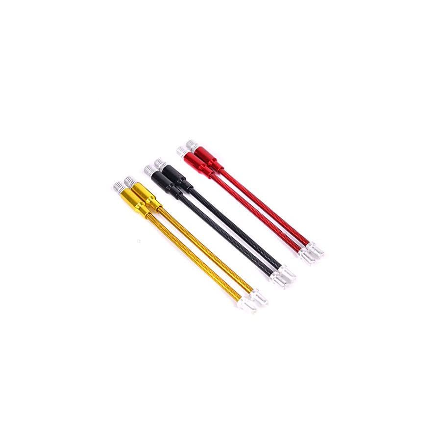 Bike Brake Length Adjustable Cable Guide Anodized Colorful Stainless Front Rear