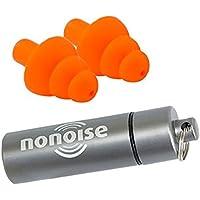 NoNoise 3PROM0160 - Protector de oído para moto (2 unidades)