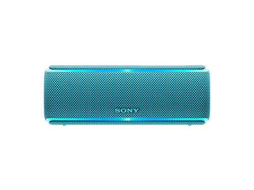 Sony SRSXB21L – Altavoz portátil Bluetooth (Extra bass, modo sonido live, party booster, luces de fiesta llamativas…