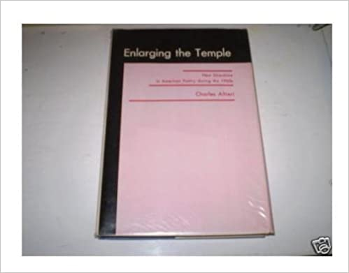 Amazon Com Enlarging The Temple New Directions In American Poetry