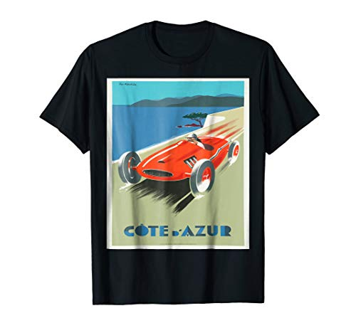 Grand Prix French Riviera Cote d'Azur Monaco Shirt