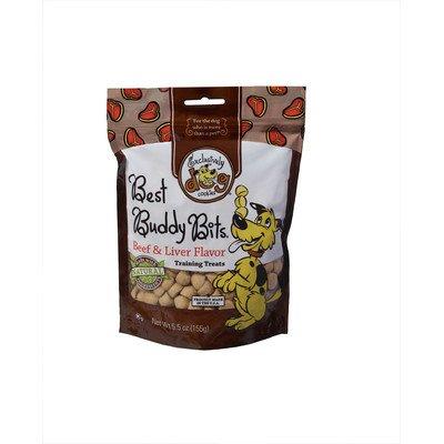 Best Buddy Bits Dog Treat Flavor: Beef & Liver, Quantity: 5.5-oz