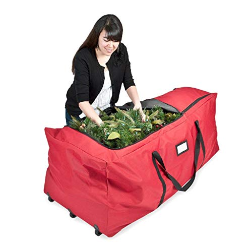 Rolling Tree Storage Bag With Wheels For Up