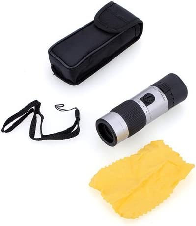 15-55×21 Mini Compact Pocket-Sized Zoomable Monocular Telescope Adjustable