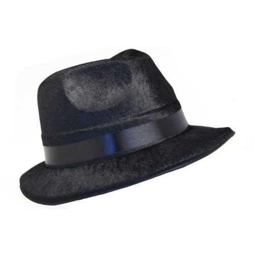 Blues Brothers Fedora Hat - Blues Costume The Brothers