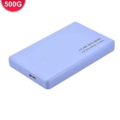 Amazon.com: Disco duro portátil de 2,5 pulgadas, USB 3.0 500 ...