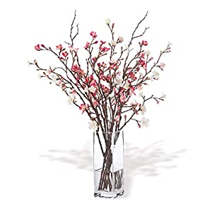 Petals Cherry Blossom Silk Flower Arrangement 1