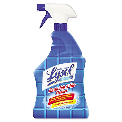 Professional Lysol Basin Tub Amp Tile Cleaner Citric Acid