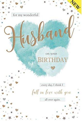 Con Amore A Mio Marito Per Il Tuo Compleanno Biglietto D Auguri Con