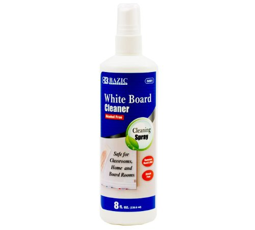 BAZIC 8 Oz. White Board Cleaner, Case of 12 (6001-12)