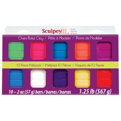 3 Pack SCULPEY MULTIPACK BRIGHTS 10pc Drafting, Engineering, Art (General Catalog)
