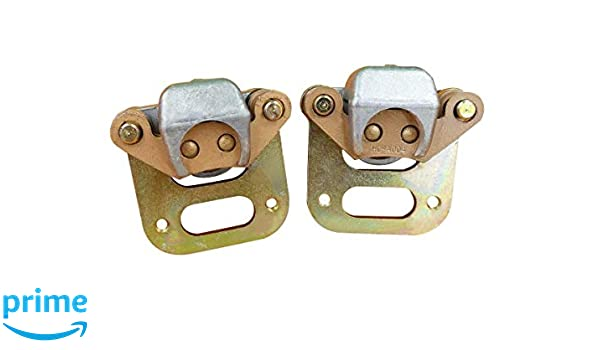 NEW LEFT RIGHT FRONT BRAKE CALIPER SET FOR POLARIS MAGNUM 425 1995-1998 WITH PAD