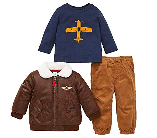 Little Me Kids 3-Piece Set ~ Kids Clothing Back to School Sets ~ (4T, -