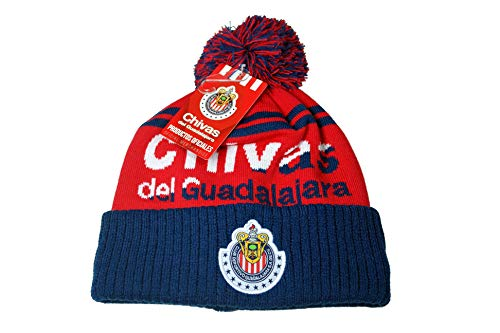 Chivas De Guadalajara Authentic Official Licensed Soccer Beanie - -