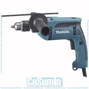 Taladro percutor 680w 2 Kg 2800 RPM portabrocas con llave MAKITA HP1640