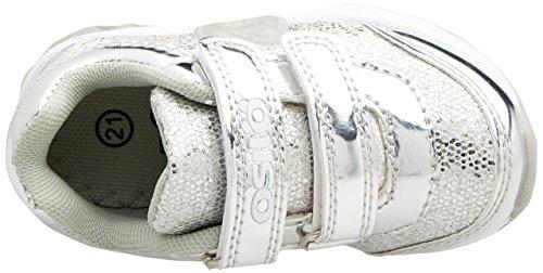 Conguitos Hvs13503, Zapatillas para Bebés Plateado (Glitter Plata)