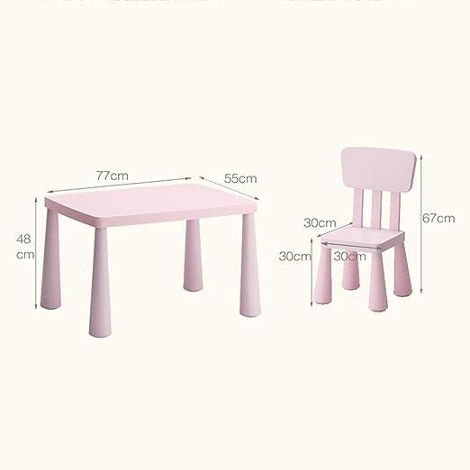 YZjk - Kindergarten mesas y sillas para niños Set Silla de Mesa de ...