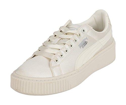 Puma Whisper White Tween Platform Basket arwqa8H