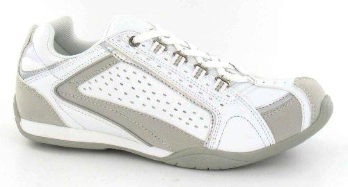 Spot On , Mädchen Sneaker, Weiß - weiß - Größe: 1 UK