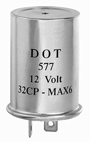 12 volt turn signal flasher   223 2 prong