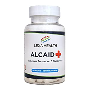 Alcaid – Top Rated Hangover Prevention, Liver Detox, Electrolyte Replacement, and Vitamin…