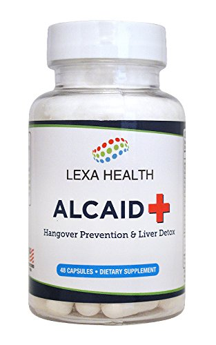 Alcaid - Top Rated Hangover Prevention, Liver Detox, Electrolyte Replacement, and Vitamin Restoration Supplement