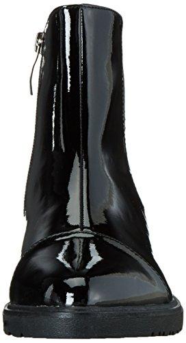 Tamaris 25057, Botas Chelsea para Mujer Negro (BLK PAT./STRUC 051)
